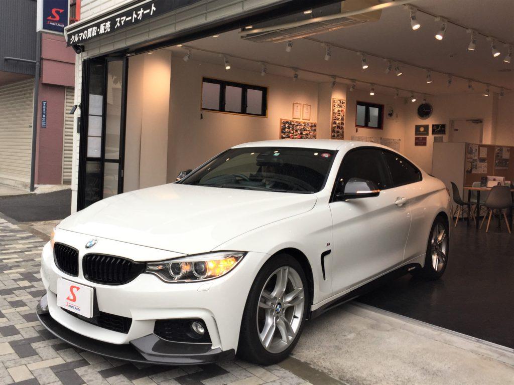 外車・輸入車のお買取・販売ならスマートオート。BMW420i を高価お買取させて頂きました。