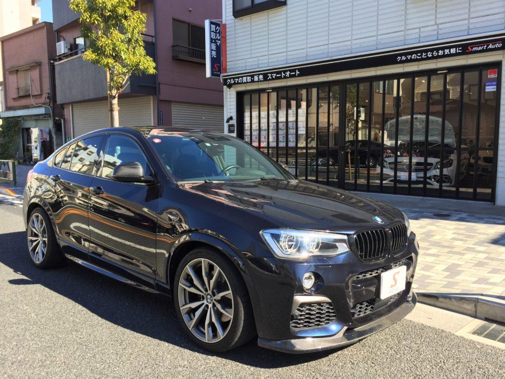 BMW X4が入ってきました。外車・輸入車のお買取のご相談はスマートオートまで!