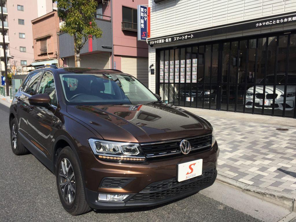 外車・輸入車のお買取・販売はスマートオートへ。VW ティグアンが入ってきました!