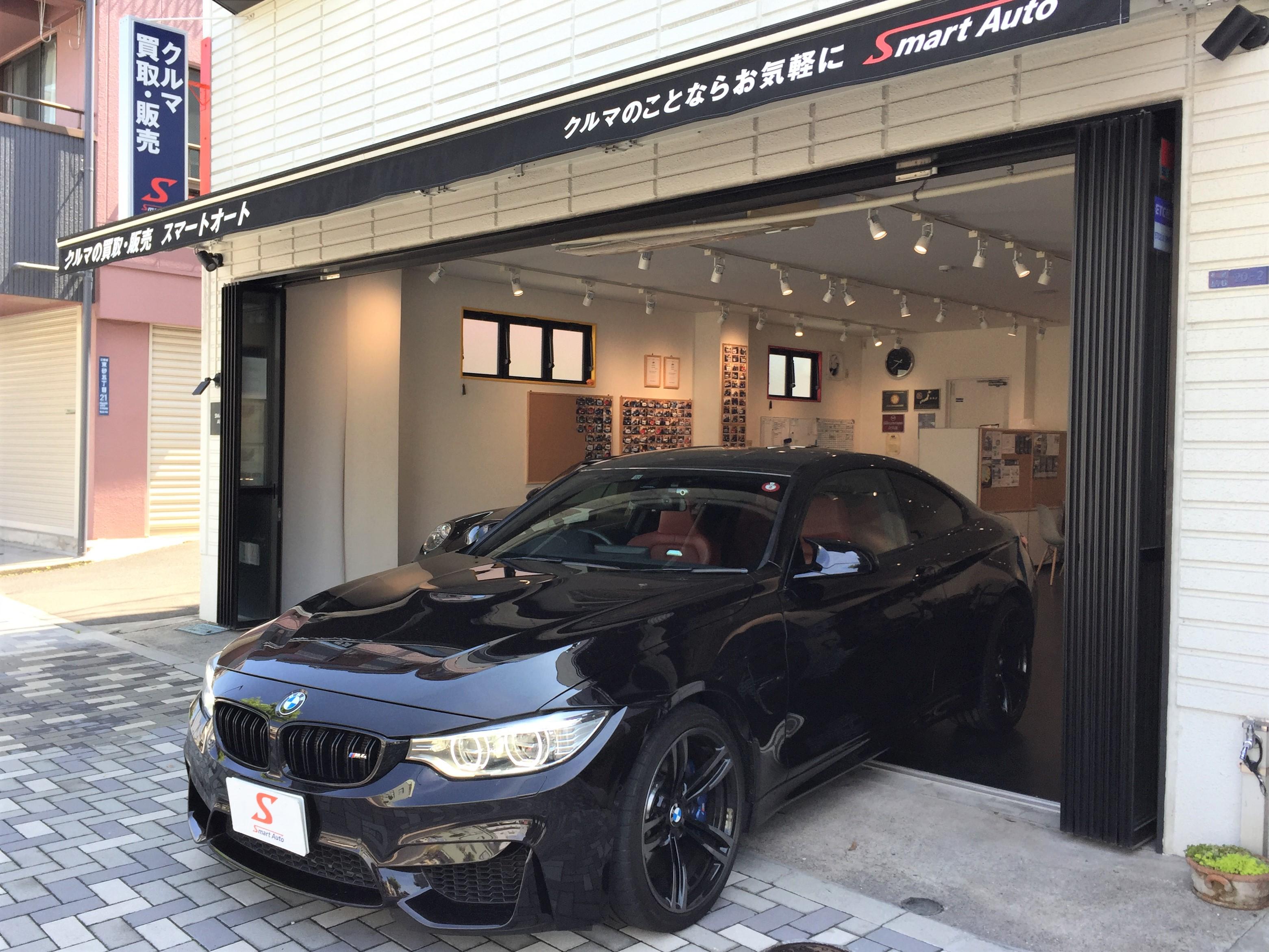 在庫車に< 日本に1台!? BMW M4 クーペ >が、追加になりました。