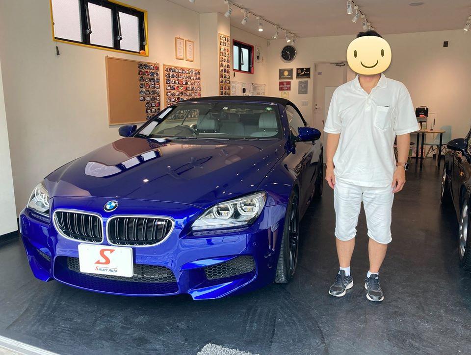 東京都・K様に、2014年式 BMW M6 カブリオレ を納車させて頂きました。