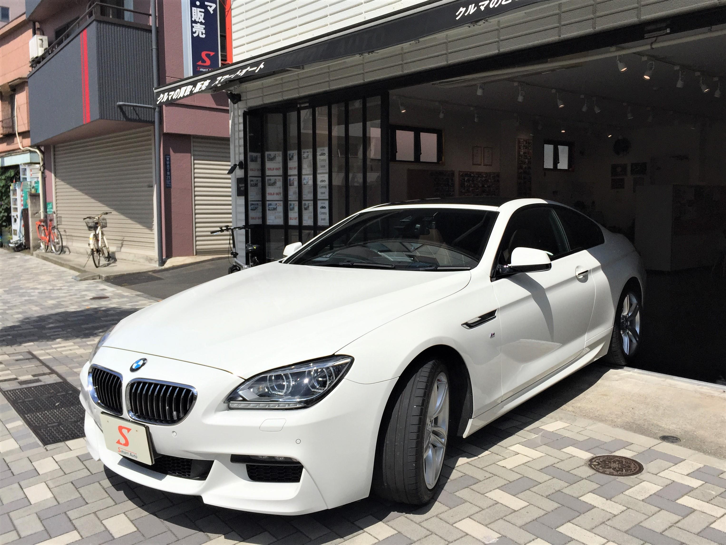 在庫車に< BMW 640iクーペ Mスポーツ >が、追加になりました。