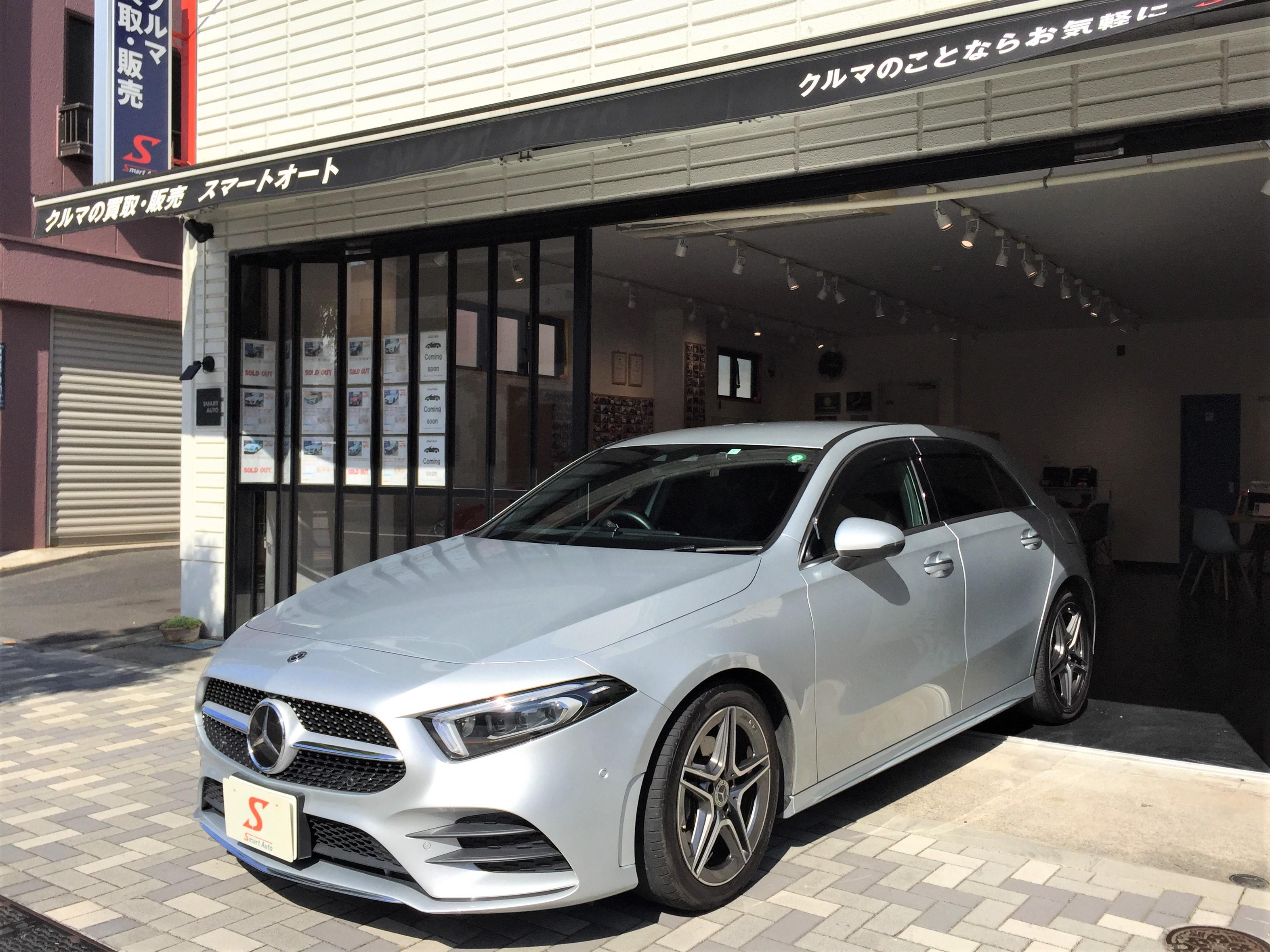スマートオートの販売在庫車に< メルセデス・ベンツ A200d >が、追加になりました。