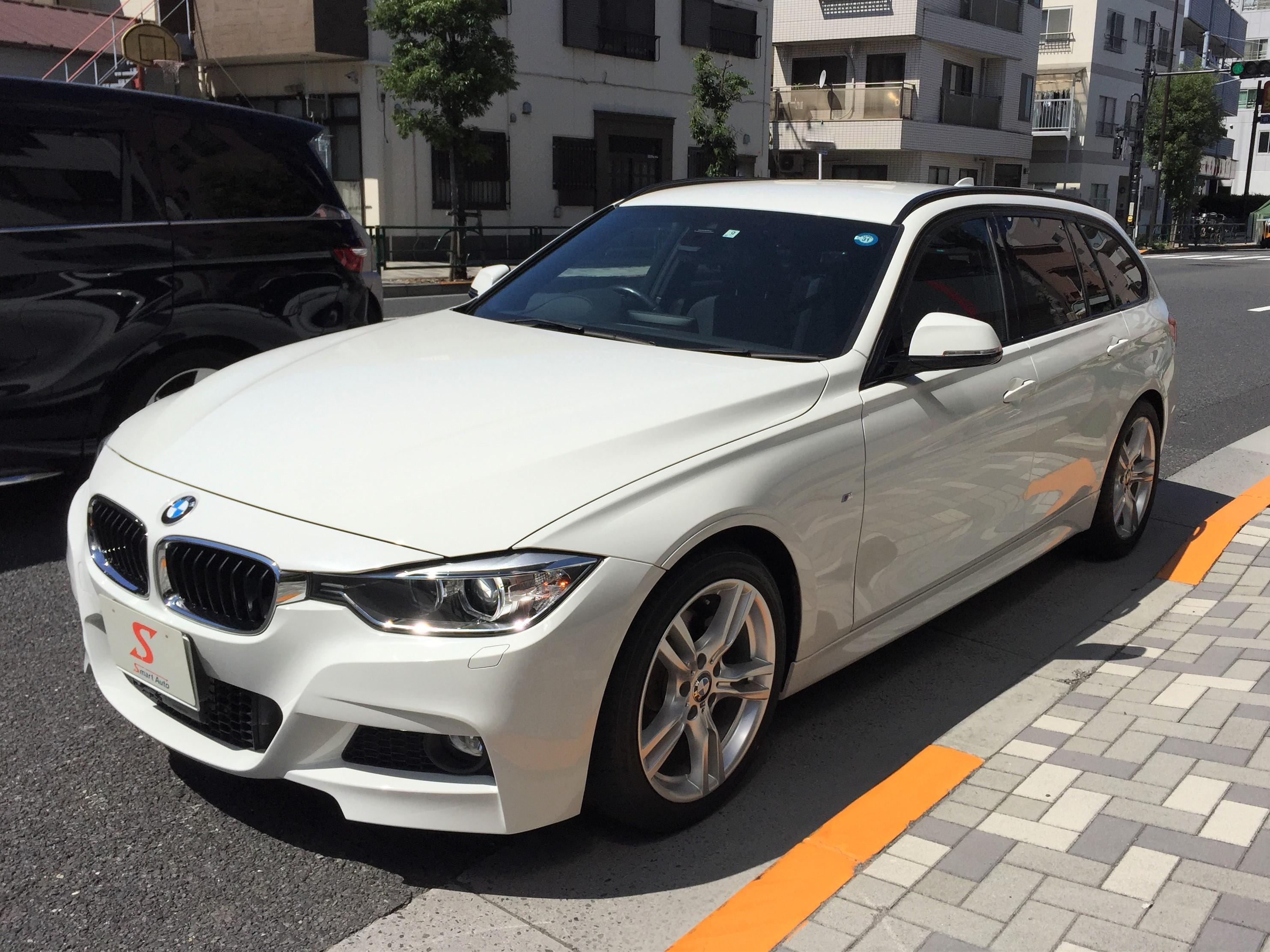 2015年式 BMW 320i ツーリング Mスポーツ をお買取させて頂き、弊社販売在庫車に追加しました。