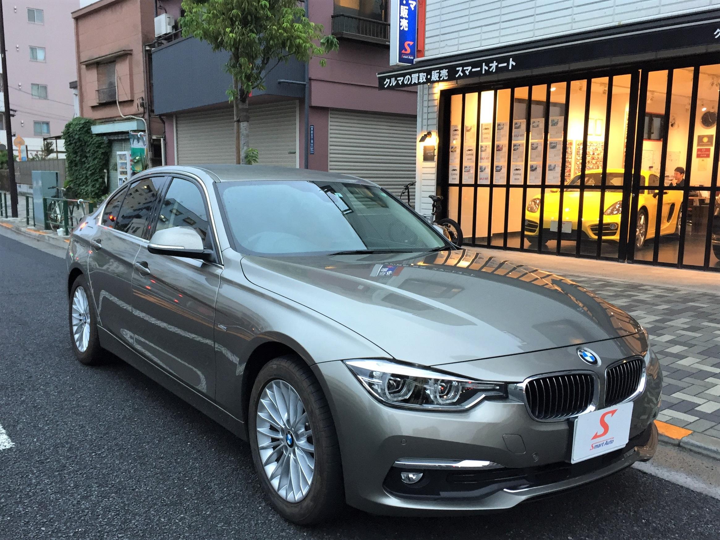 2017年式 BMW 320d ラグジュアリー をお買取させていただき、弊社販売車両に追加しました。