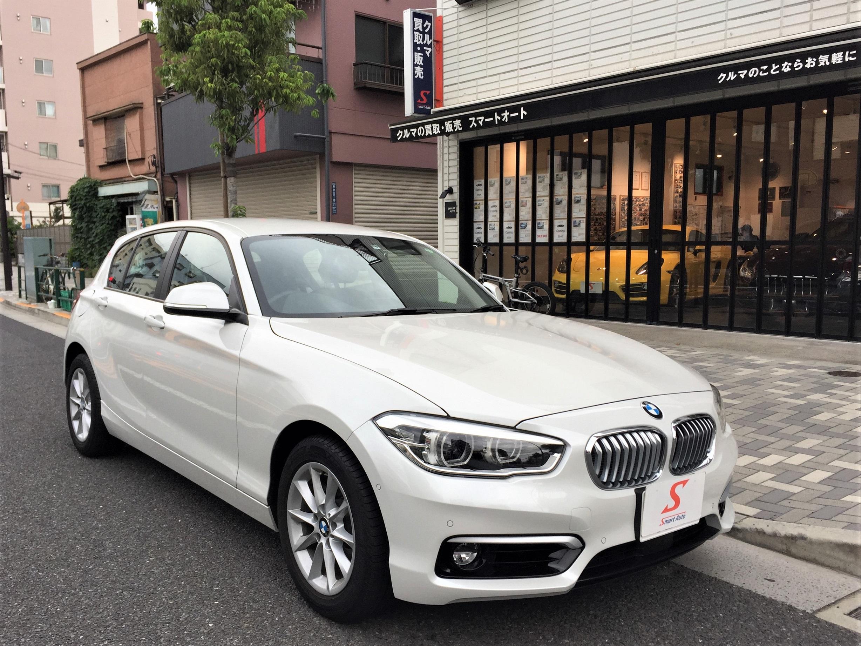 2018年式 BMW 1シリーズ 118i スタイル をお買取させて頂き、弊社販売車しました。
