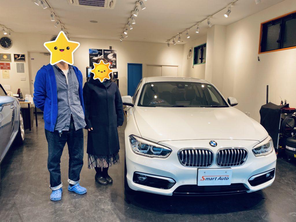 2018年式 BMW 118i STYLE をご購入の神奈川県・H様よりご感想を頂きました。