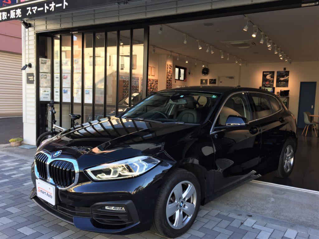 2019年式 BMW 118i プレイ/ハイラインパッケージ をお買取させて頂き、弊社販売在庫車に追加しました。