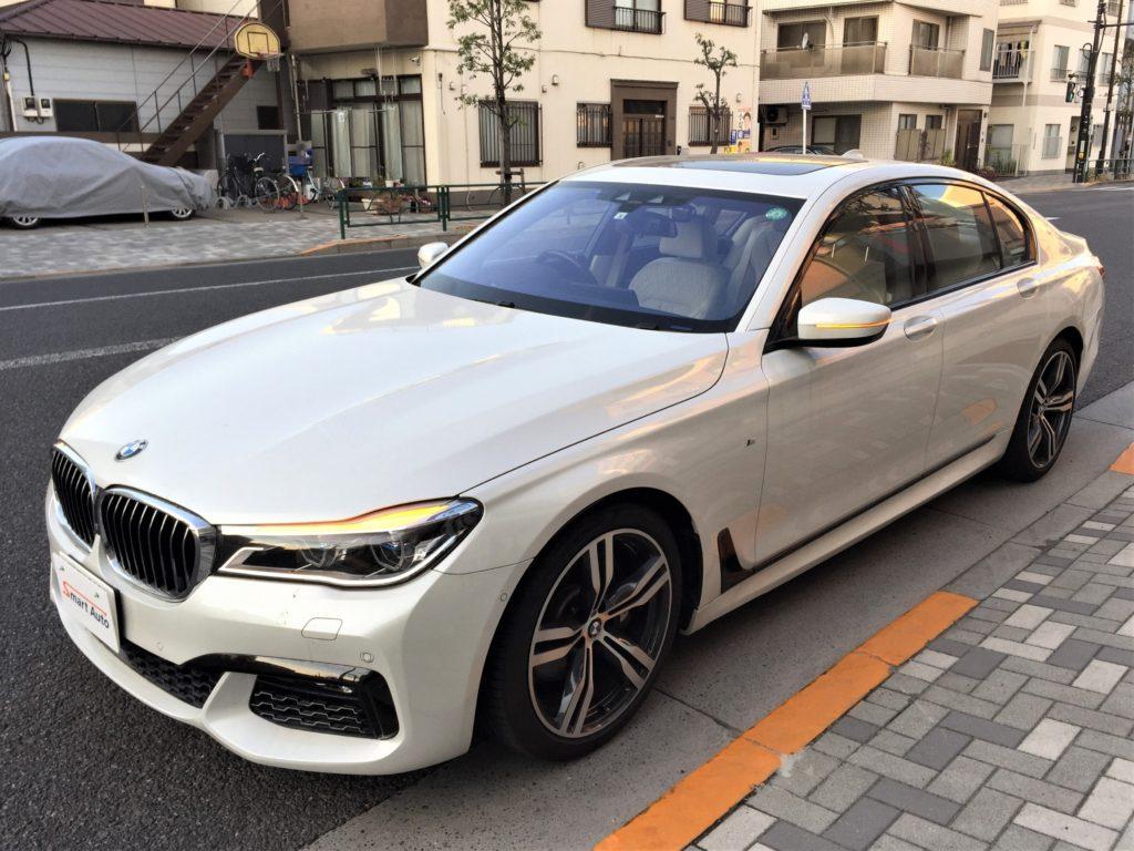 2016年式 BMW 740i Mスポーツ をお買取させて頂き、販売車に追加しました。