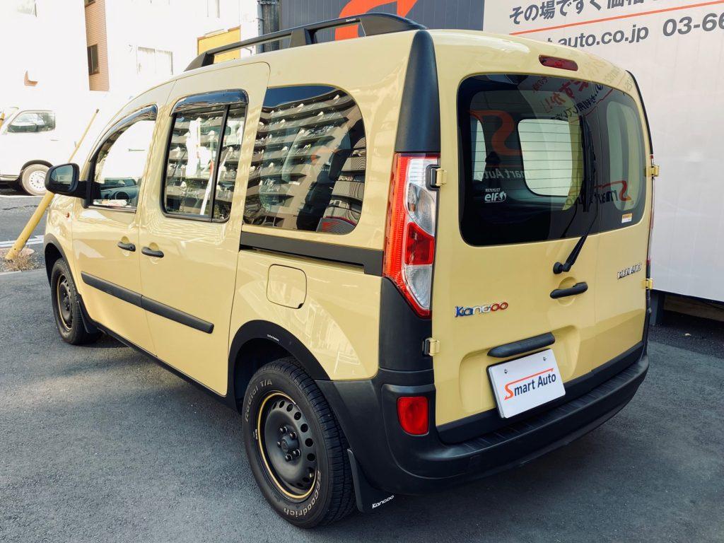 2014年式 ルノー カングー アクティフをお買取させて頂き、販売車に追加しました。