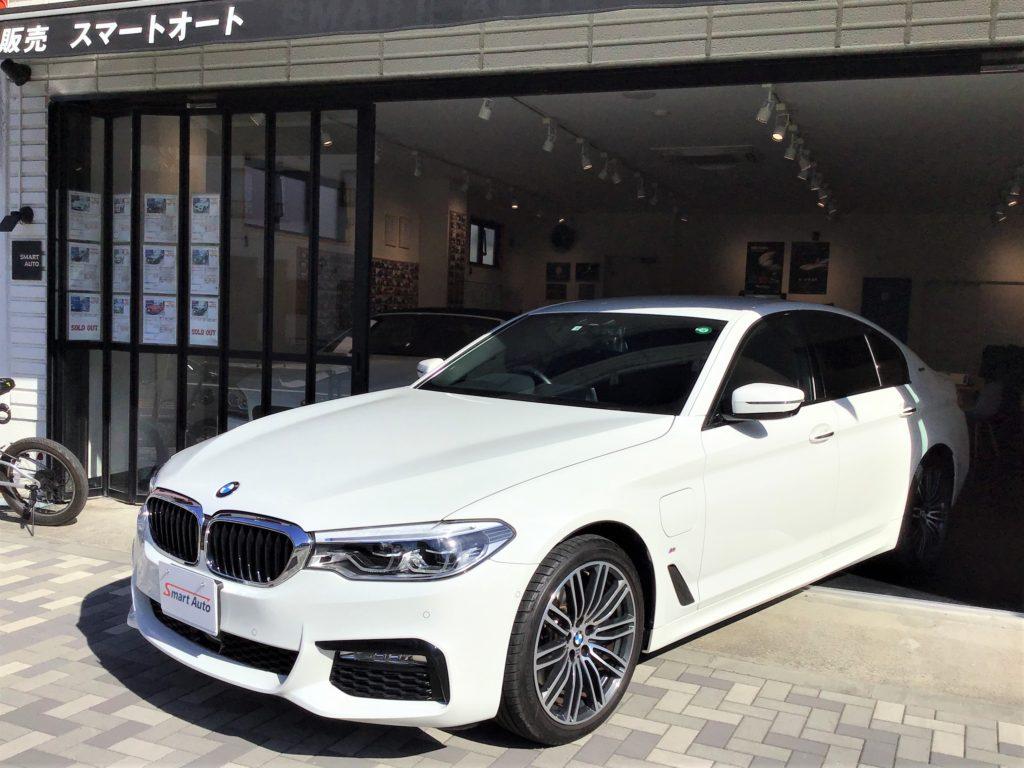 2018年式 BMW 530e Mスポーツ をお買取させて頂き、販売車に追加しました。