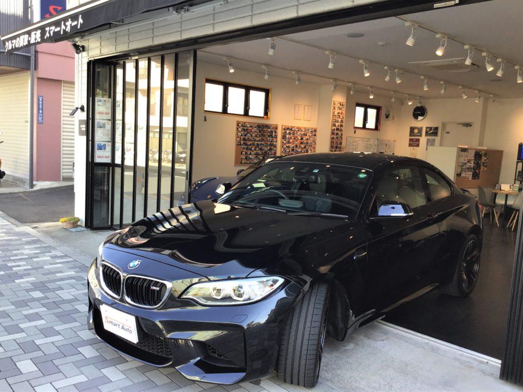 2017年式 BMW M2クーペ( 6速MT )が入庫致しました。
