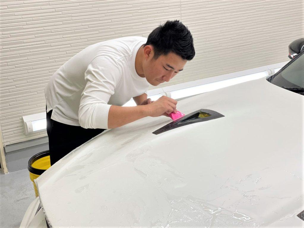 東京都江東区スマートオートに、愛車のプロテクションフィルム・ボディコーティングはお任せ下さい!