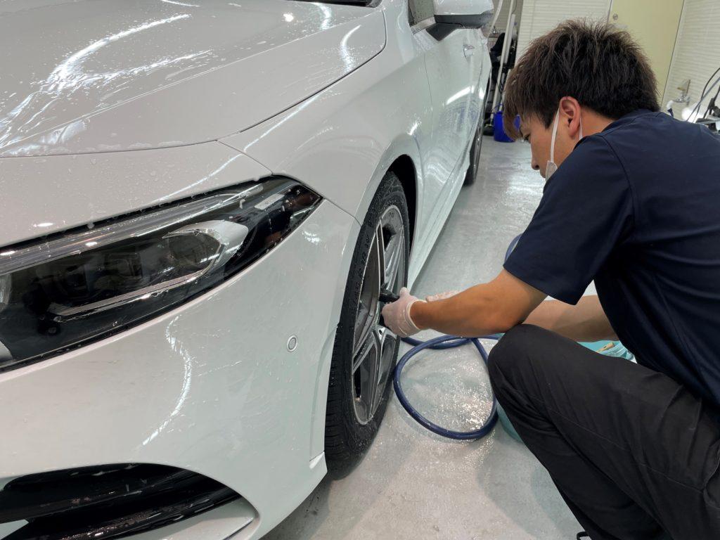 愛車のボディコーティング・プロテクションフィルムの施工は、ッ東京都江東区スマートオートにお任せ下さい。