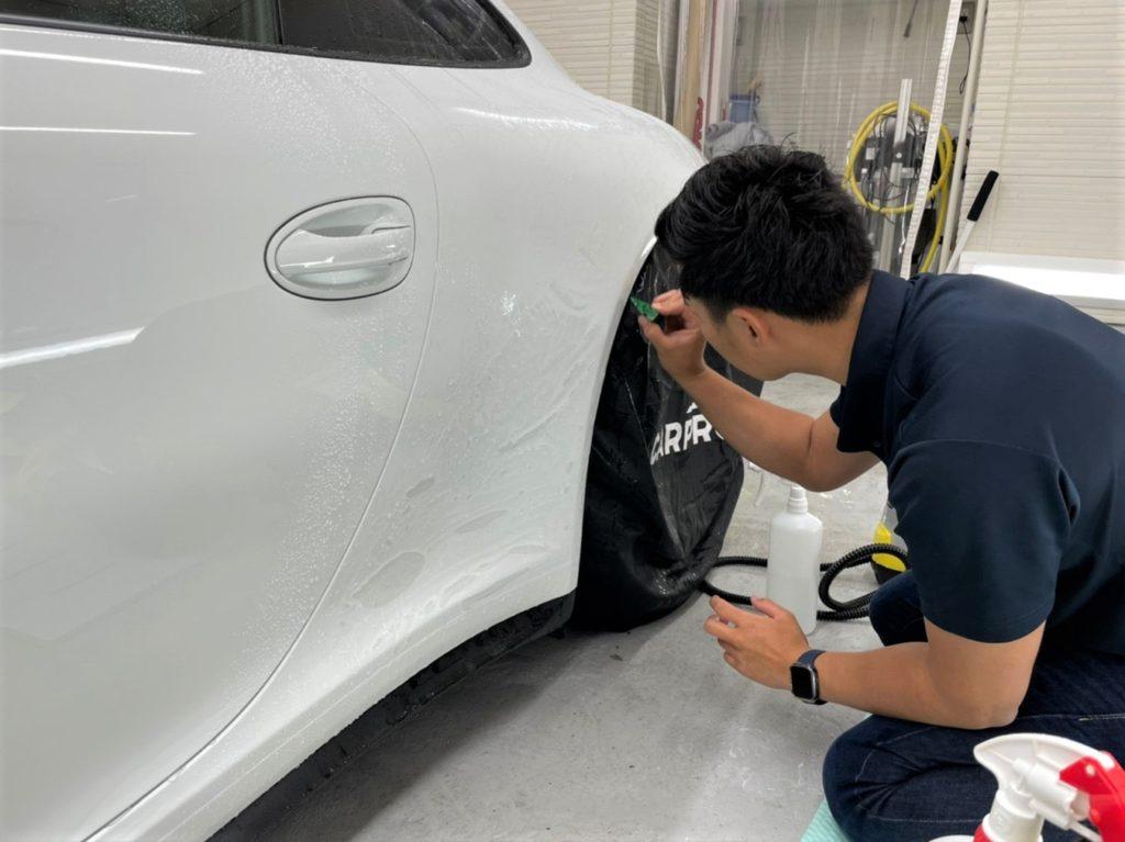 愛車のプロテクションフィルム施工は東京都スマートオートにお任せ下さい。