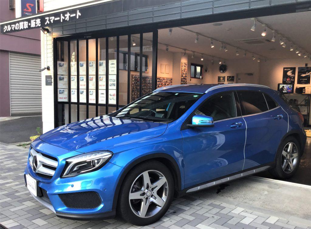 2015年式 メルセデス・ベンツ GLA250 4MATIC スポーツ をお買取させて頂き、販売車に追加しました。