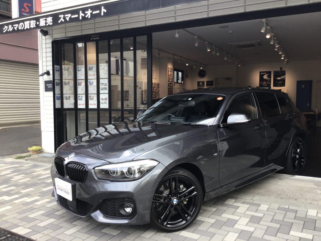 2019年式 BMW 118d Mスポーツ エディションシャドー をお買取させて頂き、販売車に追加しました。