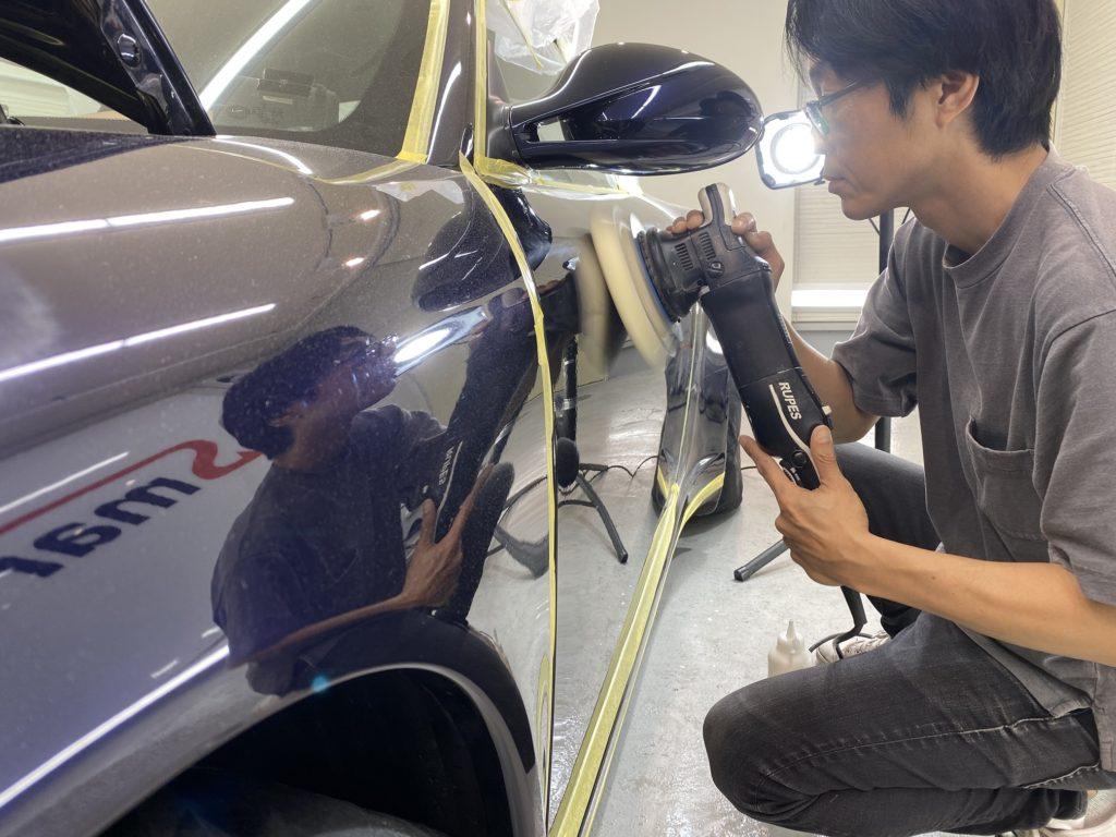 ポルシェ 911 カレラ 4S カブリオレのコーティングメンテナンスと幌コーティングを実施しました