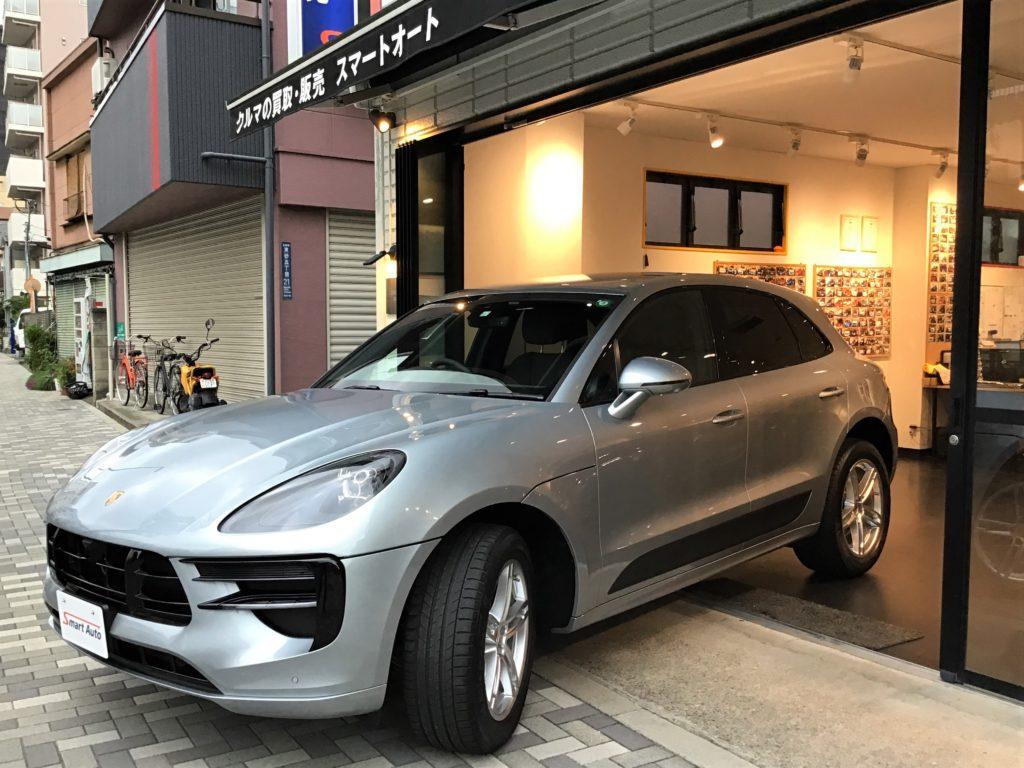 2019年式 ポルシェ マカン PDK スポーツクロノPKG. をお買取させて頂き販売車に追加しました。